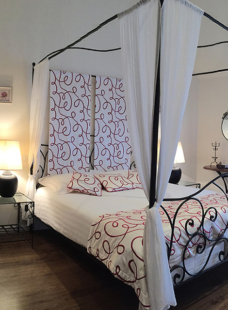 Chambre Les Cabrettes au Clos du Mont Rouge à Bouzy